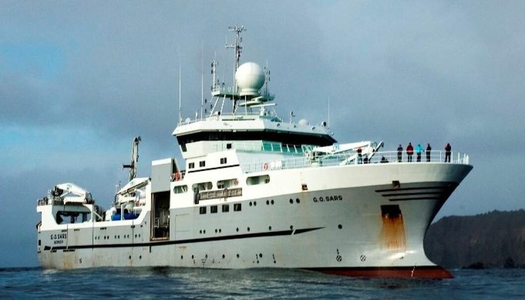 Forskningsfartøyet «G.O. Sars». Kjartan Mæstad/Havforskningsinstituttet