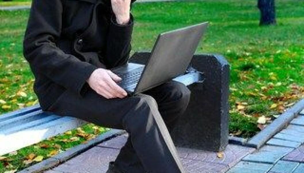 Fornuften forsvinner i informasjonsfellene på nettet