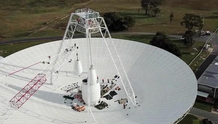Deep Space Station 43 i Australia har vært nede for oppgraderinger.