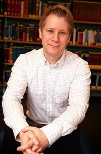 Stipendiat Håkon Andreas Evju ved Institutt for arkeologi, konservering og historie, Universitetet i Oslo. (Foto: Annica Thomsson)