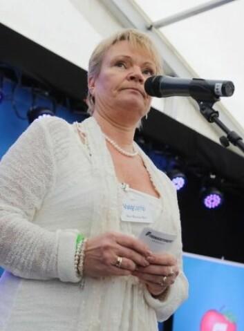 Frps helsepolitiske talsperson Kari Kjønaas Kjos mener at konkurranseutsetting av den kommunale hjemmesykepleien kan skjerpe kvaliteten, også den som har betydning for bemanning. (Foto: Scanpix, Tor Erik Schrøder)