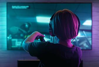 De som spilte mye dataspill, fikk mindre angst