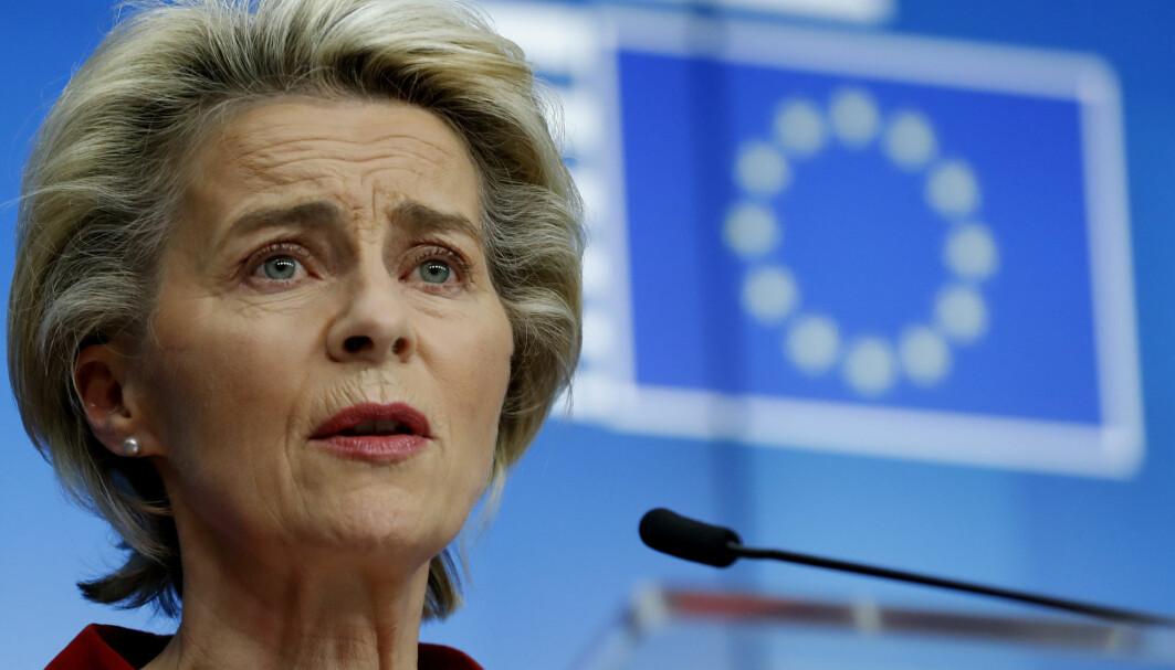 Onsdag skal Ursula von der Leyen og hennes kommisjon gi sin tilslutning til avtalen om kjøp av Pfizers vaksine, så snart den er klar.
