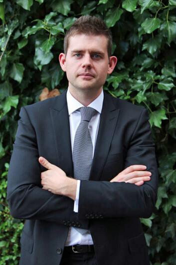 Matthew Goodwin ved University of Nottingham har tidligere i år gitt ut bok om British National Party. (Foto: University of Nottingham)