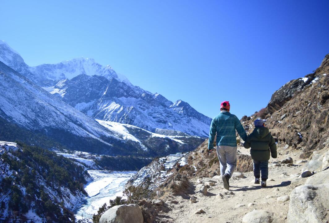 Barn som bor Himalaya vokser mindre i høyden enn andre barn.