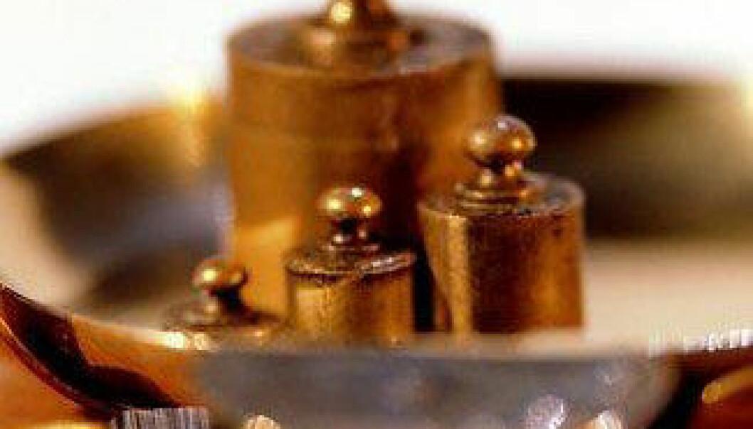 Prototyp-kiloet er ikke lenger bra nok for fysikerene. Men hva skal det erstattes med? www.colourbox.com