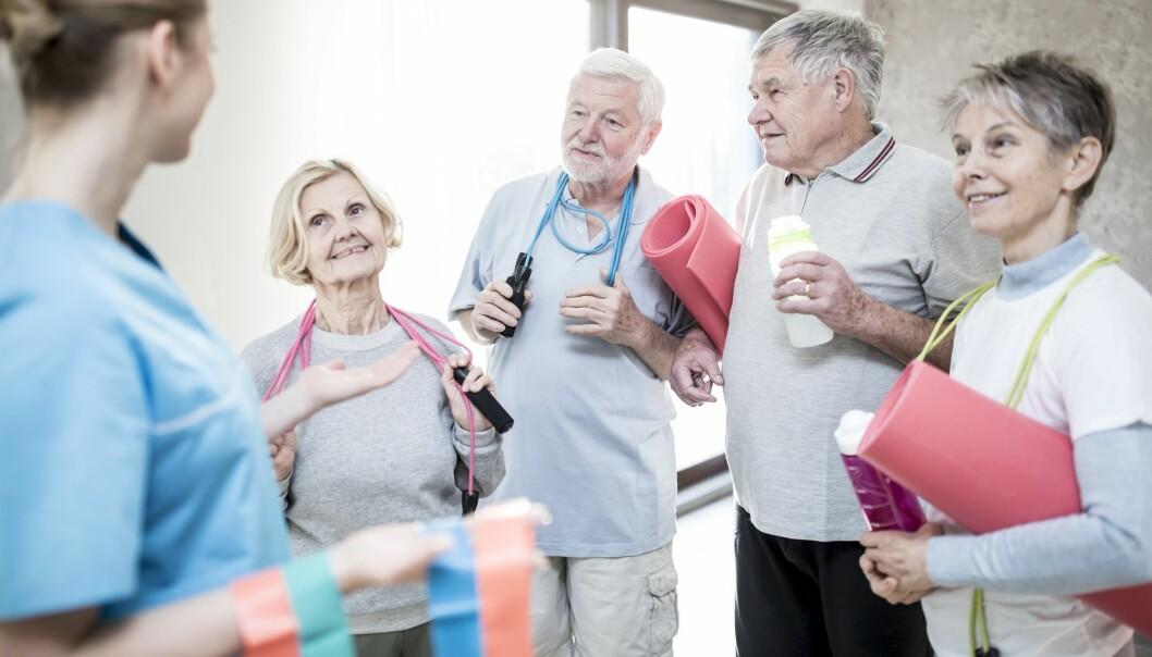 Fysisk aktivitet kan gi eldre mennesker formidable helsegevinster. Det styrker muskler og skjelett og senker risikoen for en rekke livsstilssykdommer, som hjerteinfarkt, hjerneslag og demens.