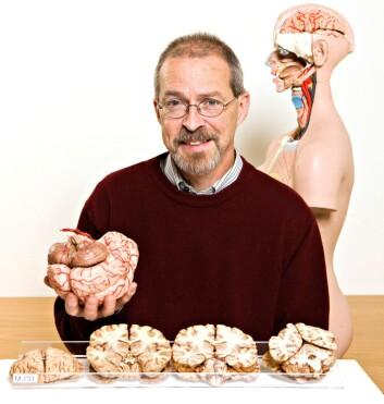 – Prinsippene som styrer gittercellene i hjernen ser ut til å være ganske enkle. Da har vi grunn til å tro at også de andre systemene i hjernen er forholdsvis enkle, sier professor Menno Witter. (Foto: Geir Mogen/NTNU)