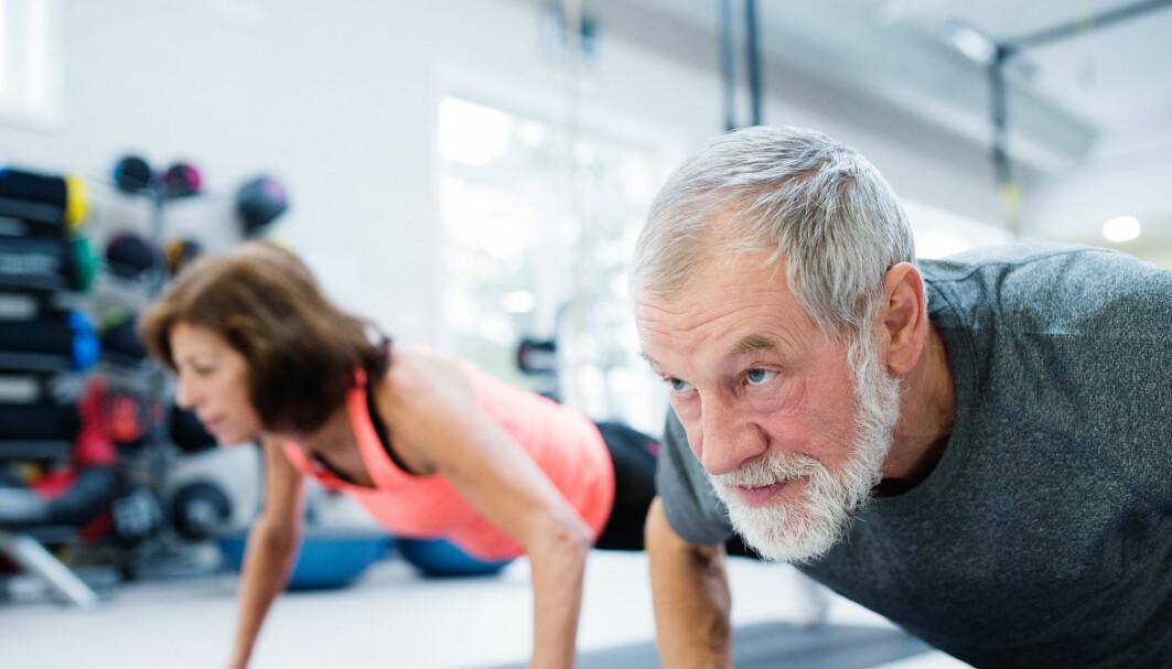 Mange av 70-åringene som skulle trene minst, la seg i stedet i hard-trening. Dermed fikk NTNU-forskerne vansker med å tolke resultatene