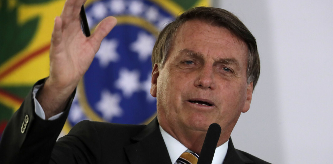 President Jair Bolsonaro er sterk motstander av vaksinen.
