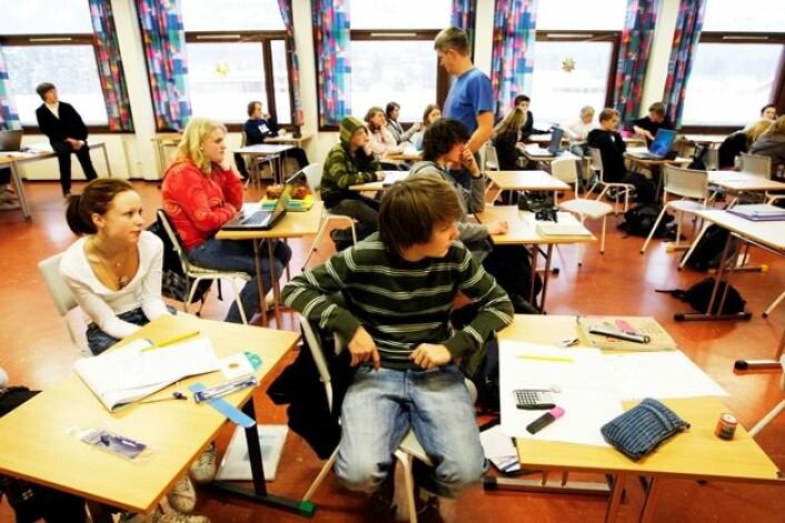 Skoleflinke elever aksepterer de fleste oppgaver og fag, selv de de ikke liker spesielt godt, viser kvalitative studier. (Foto: Scanpix, Lise Åserud)
