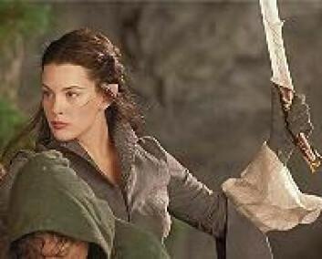 """""""Liv Tyler, her fra Ringenes Herre-trilogien i rollen som Arwen. Foto: New Line Cinema."""""""