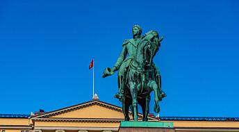 Bønder og studentar sat kong Karl Johan på plass på 1800-talet