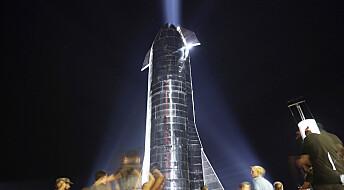 SpaceX varmer opp før den neste, store testen av romskipet Starship