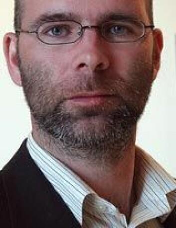 """""""Stipendiat Patrick Kermit, Inst. for sosialt arbeid og helsevitenskap. Foto: Mentz Indergaard/NTNU Info"""""""