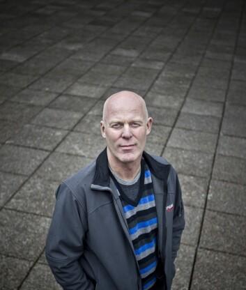 Professor Nikolai Østgaard har forska lenge på nordlys og gammaglimt. Romfysikkgruppa han leier gjer stadig store oppdagingar i det nære verdsrommet. (Foto: Eivind Senneset/UiB)