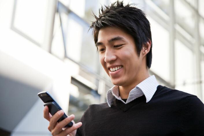 Flere kan allerede snakke med mobilen sin. (Foto: Shutterstock)