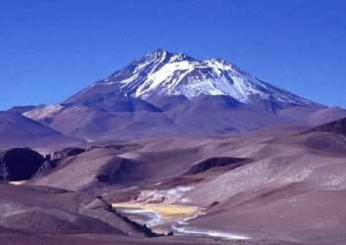 De tre barna måtte gå til toppen av denne vulkanen for å dø, for rundt 500 år siden. (Foto: Jaime E. Jiménez)
