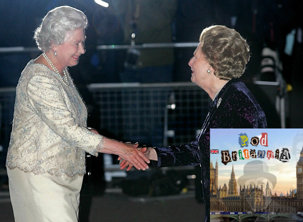 Ifølge historikerne var det et vanskelig forhold mellom dronning Elizabeth og statsminister Margaret Thatcher. Her møtes de igjen i 2005, i anledning Thatchers 80-årsdag.