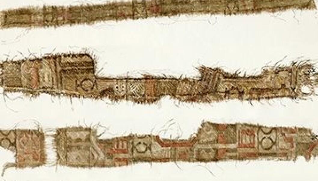 Norske vikinger kjøpte silke fra Persia