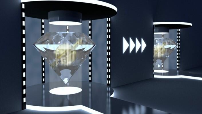 Hver gang forskerne prøvde, lyktes de: Informasjon ble teleportert fra ett sted til et annet. Nå kan resultatet få betydning for fremtidens datamaskiner. (Foto: Delft University of Technology)