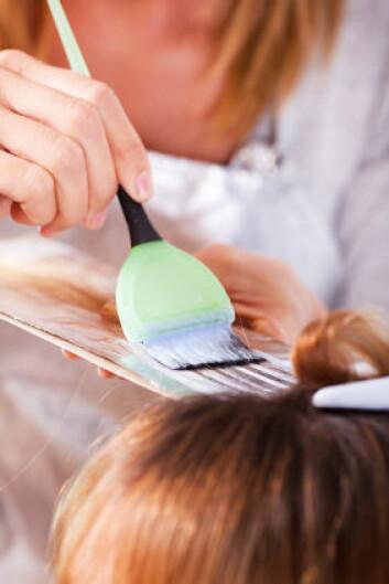 Blant kvinnene var det frisørene som var mest utsatt for yrkesrelatert astma. (Foto: Istockphoto)