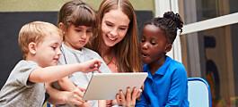 Barnehagebarn stortrives når de får lage digitale fortellinger
