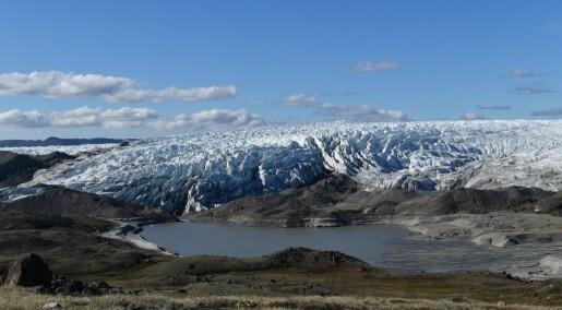 Forskere oppdager gigantisk, eldgammel sjøbunn under isen på Grønland