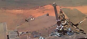 Panoramautsikt over Mars