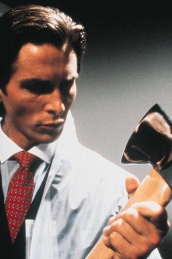 Er de fleste psykopatene menn? Bildet er hentet fra filmen American Psycho fra 2000. (Foto: Nordisk Film Distribusjon)