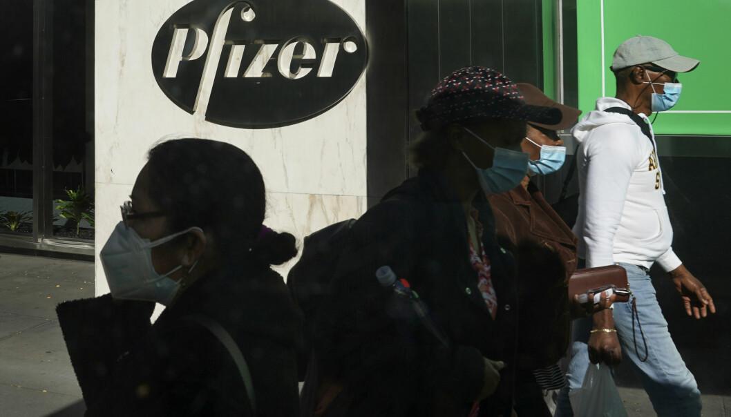 Pfizer vil søke om midlertidig godkjenning av vaksinen i USA i løpet av få dager.