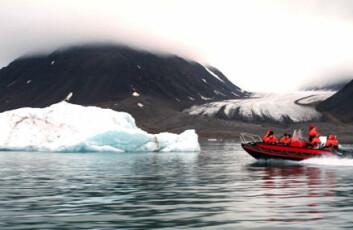 """""""Polaråret åpner 1. mars 2007. Her et motiv fra Svalbard, som står sentralt i polarforskningen. Foto: Kristin Straumsheim Grønli."""""""