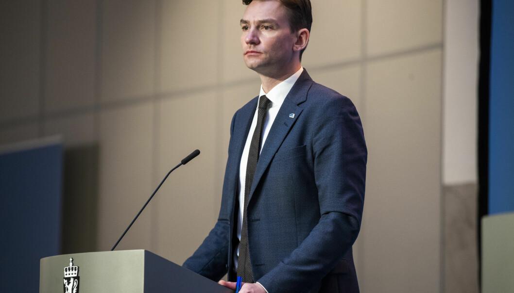 Forsknings- og høyere utdanningsminister Henrik Asheim (H) er fornøyd med at norske aktører har hentet over 13 milliarder kroner fra EU-programmet Horisont 2020 de siste seks årene.