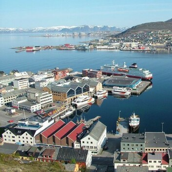 Hammerfest. (Foto: Wikimedia Commons)