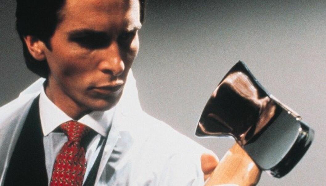 "Christian Bale i rollen som Patrick Bateman i filmen ""American Psycho"") Nordisk Film Distribusjon"