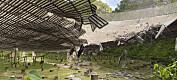 Arecibo-observatoriet står i fare for å kollapse