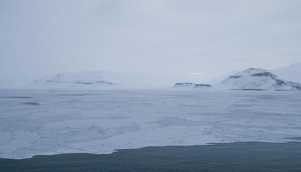 I 2019 ble det målt rekordhøye nivåer både av CO2 og av metan i atmosfæren over Norge. Her fra Svalbard.