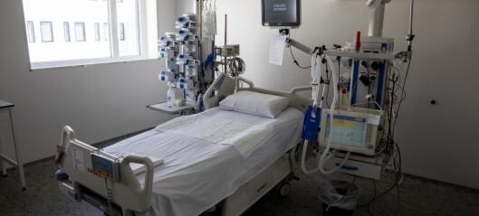 Nye FHI-beregninger: Langt lavere risiko for sprengt respiratorkapasitet