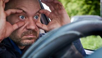 Sigrid lurer på om det skjer flere bilulykker når folk har sovet lite.