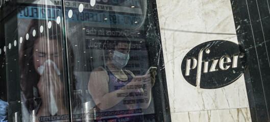 Pfizer har søkt om å få hastegodkjent koronavaksine i USA