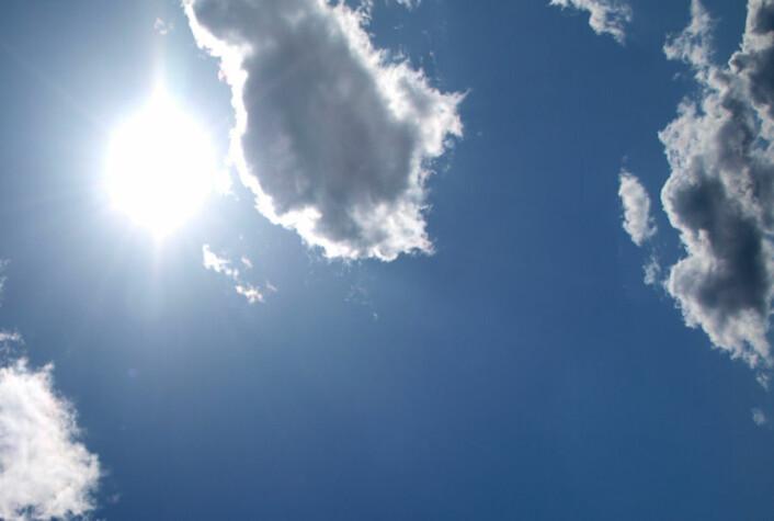 Ny dansk forskning beviser at det er en forbindelse mellom solens magnetiske aktivitet og klimaet på jorden. (Foto: Colourbox)