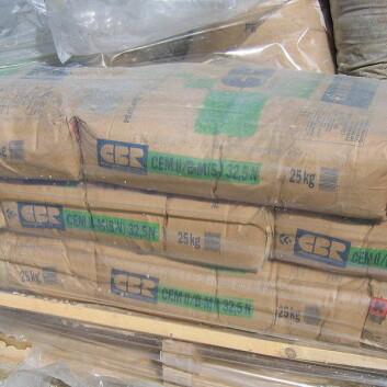 """(Illustrasjonsfoto: <a href=""""http://en.wikipedia.org/wiki/File:Portland_Cement_Bags.jpg"""">Wikimedia Commons</a>)"""