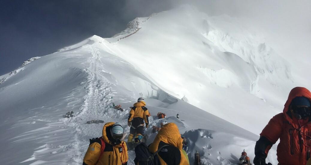 Forskere fant masse mikroplast på verdens høyeste fjell