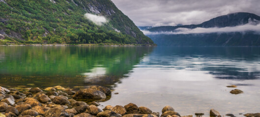 Demise of a glacier, uncovering of the Hardangerfjord