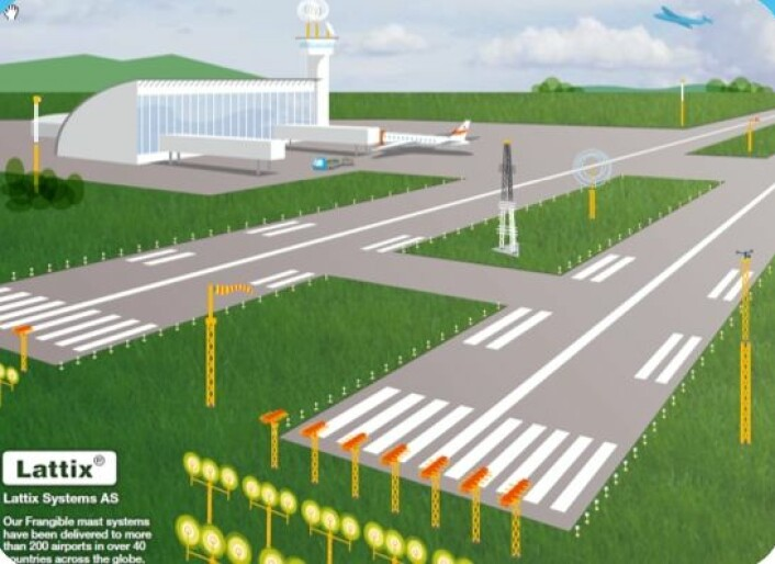 Flyplassmaster er det neste store satsingsområdet i BIA-prosjektet. (Illustrasjonsfoto: Lattix)