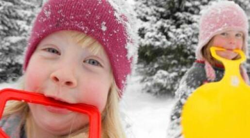 Spis snø med god samvittighet