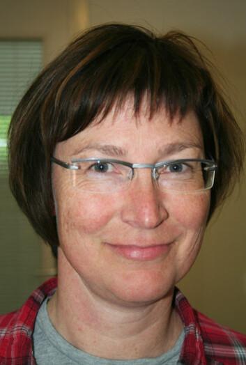 Forsker Nina Trandem ved Bioforsk Plantehelse. (Foto: Asle Rønning)