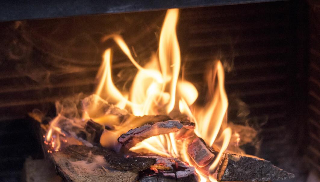 Kos med levende flammer, men det betyr også mer utslipp.