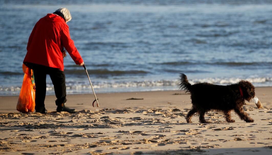 Strandrydding har blitt en aktivitet som samler folk over hele verden. Du får en følelse av å være del av noe større enn deg selv, mener forsker.