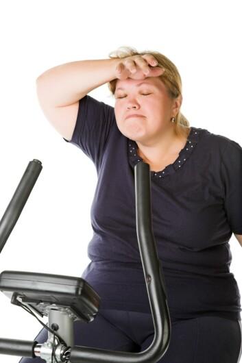 Det er forskjellig hvor godt trening virker på mennesker med høyt blodsukker. Trening er allikevel bra for mye. (Foto: Colourbox)
